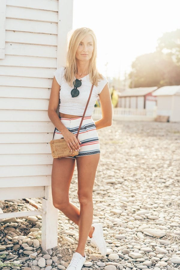 Shorts met print trendy