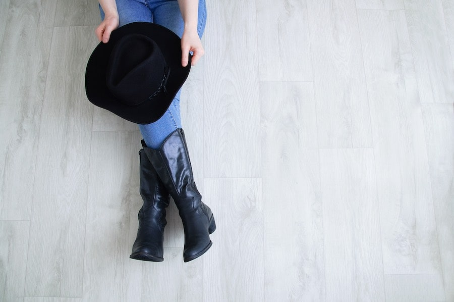 City western boots met denim outfit